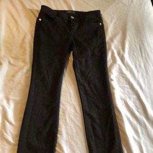Abercrombie Harper Low Rise skinny black jeans